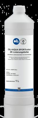 ОЛИ-АКВА SPORTcolor 2K-Краска для разметки спортивного паркета