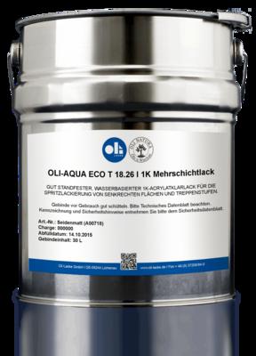 OLI-AQUA ECO T 18.26 I 1K Multilayer Lacquer