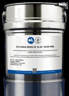 ОЛИ-АКВА MODU M 18.30 I 1K/2K-Многослойный лак