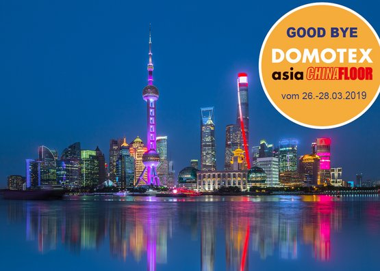 Good bye DOMOTEX Asia!