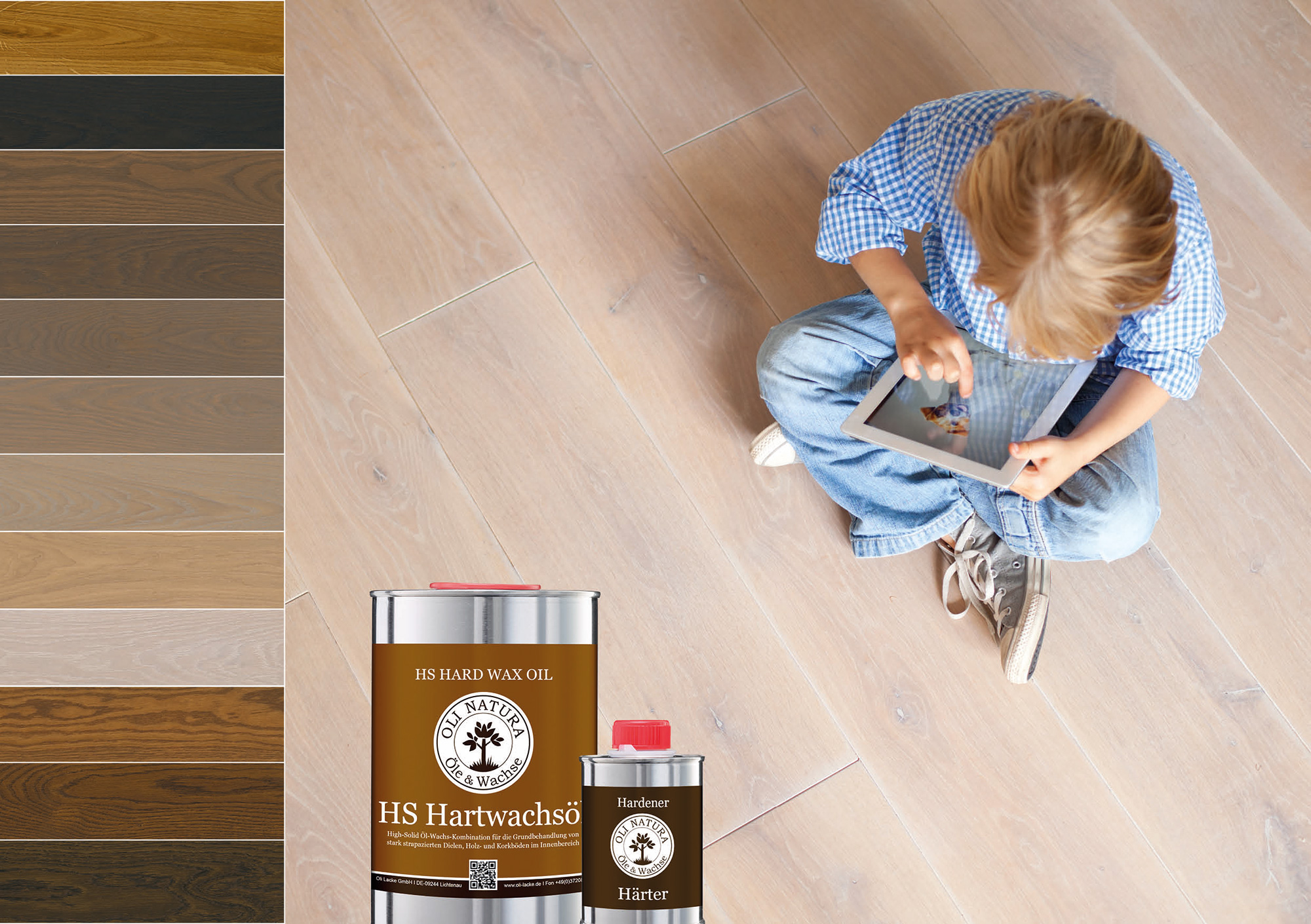 Protects and dyes wood with only one application