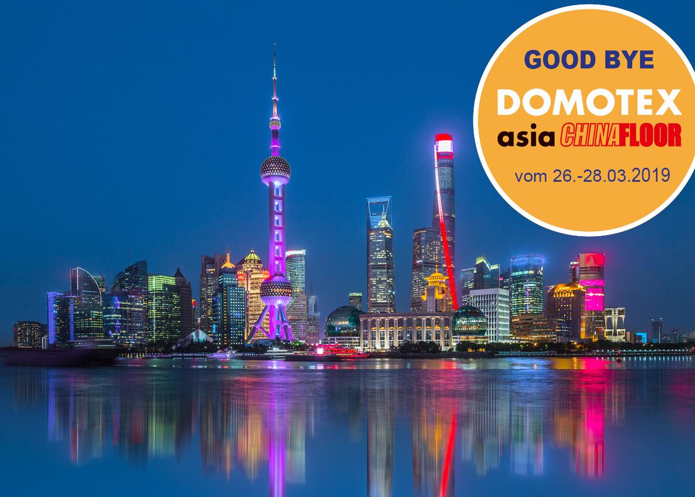 Good bye DOMOTEX Asia!